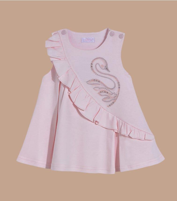 SOFIJA Swan Pink Dress
