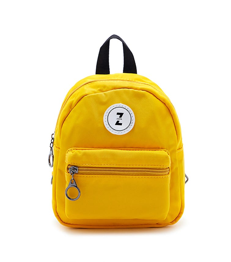 CCC Detachable Straps Backpack - Yellow