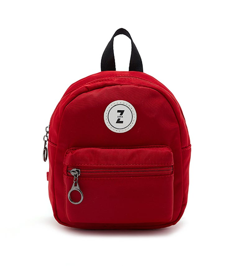 CCC Detachable Straps Backpack - Red