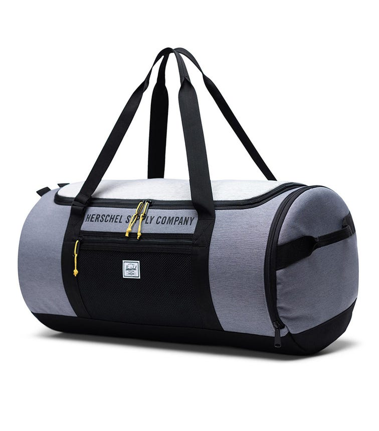 HERSCHEL Sutton Carry-All Duffle Bag - Mid Grey Crosshatch