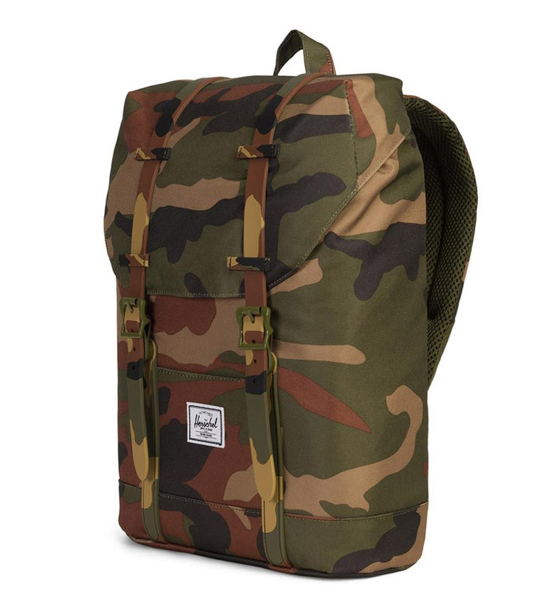 HERSCHEL Retreat Youth Backpack - Woodland Camo