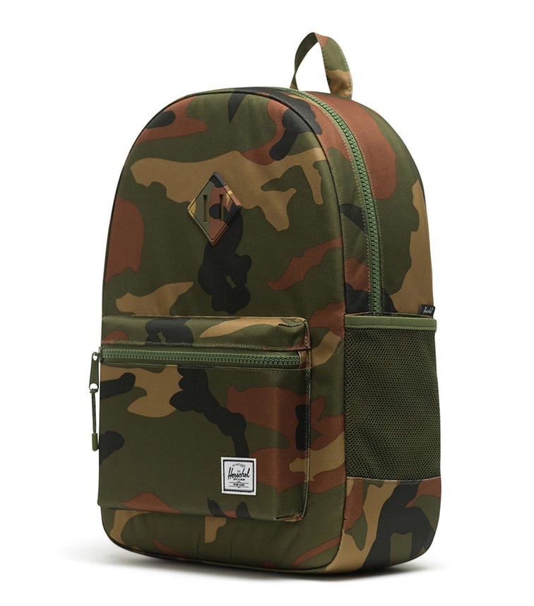 HERSCHEL Heritage Youth X-Large Backpack - Woodland Camo