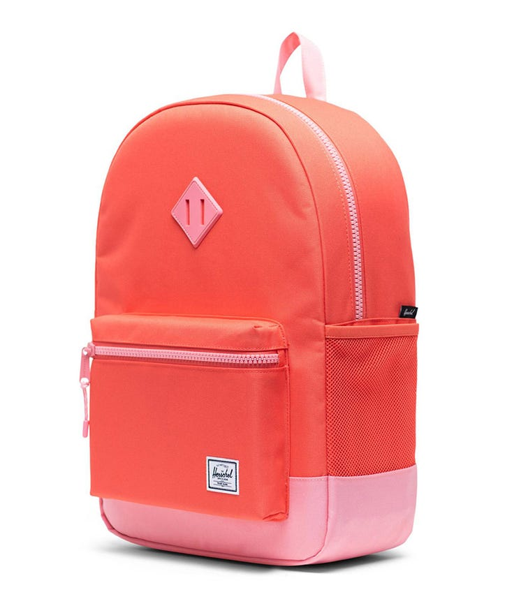 HERSCHEL Heritage Youth X-Large Backpack - Hot Coral
