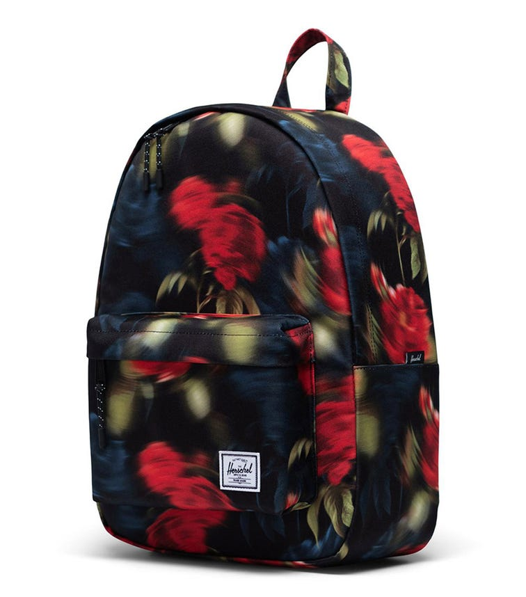 HERSCHEL Classic Mid-Volume Backpack - Blurry Roses