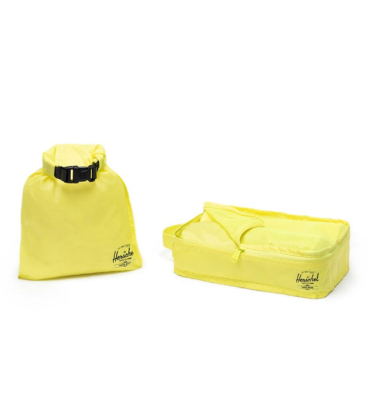 HERSCHEL Travel Organizers - Highlight Yellow
