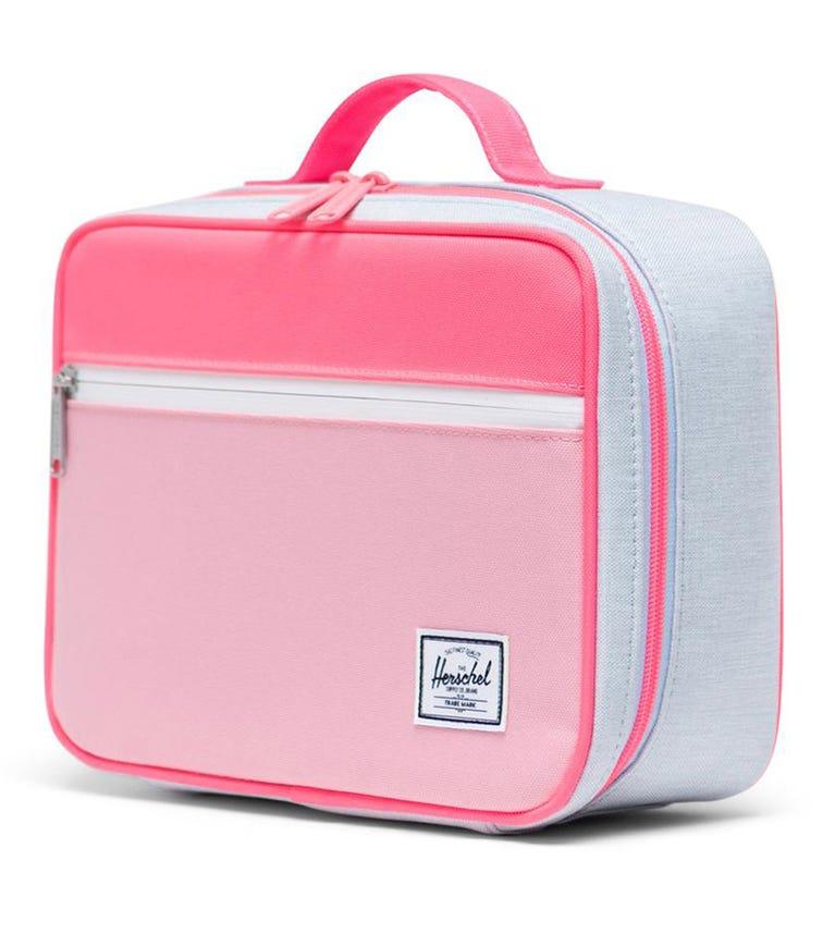 HERSCHEL Pop Quiz Lunch Box - Neon Pink