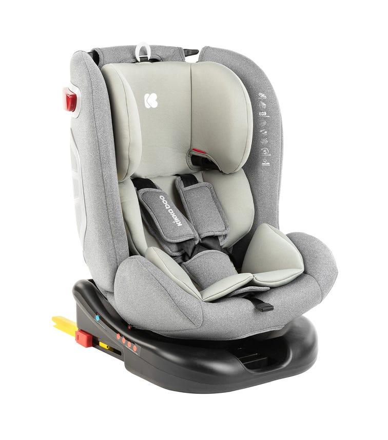 KIKKABOO Car Seat 0-1-2-3 (0-36 KG) 2020 Cruz - Light Grey