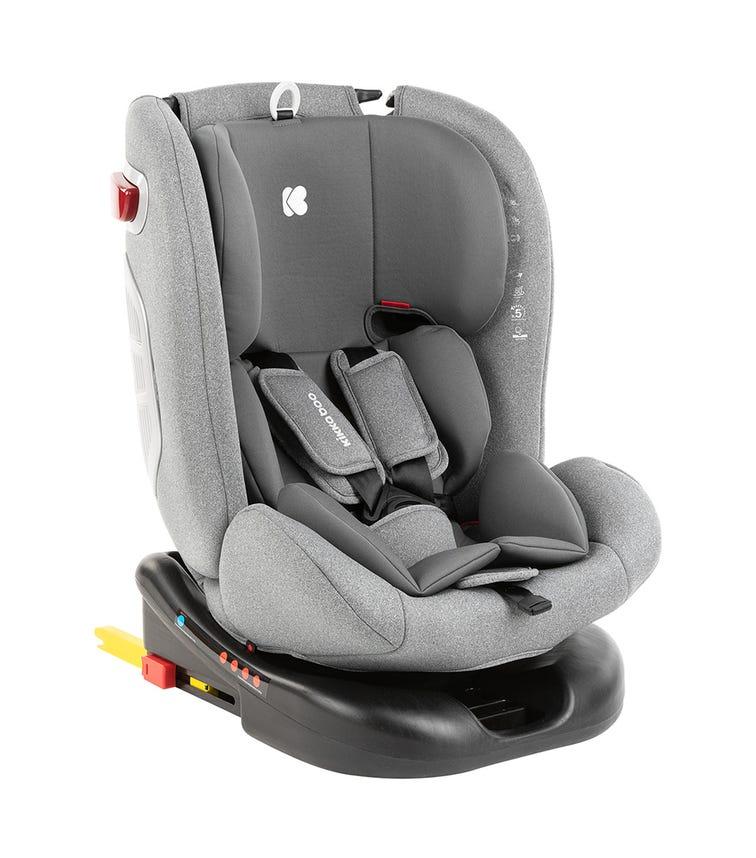 KIKKABOO Car Seat 0-1-2-3 (0-36 KG) Cruz 2020 - Dark Grey