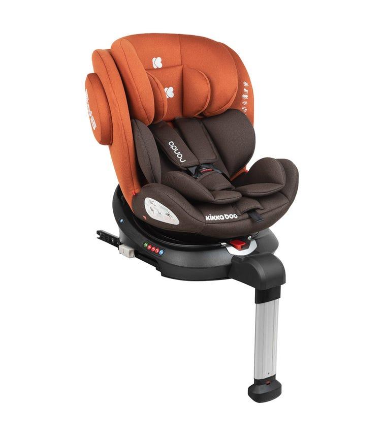KIKKABOO Car Seat 0-1-2-3 (0-36 KG) Ronda Isofix - Orange