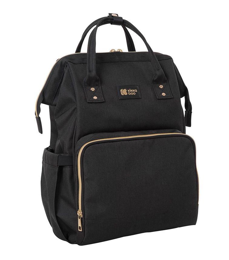 KIKKABOO Mama Bag Siena - Black & Gold