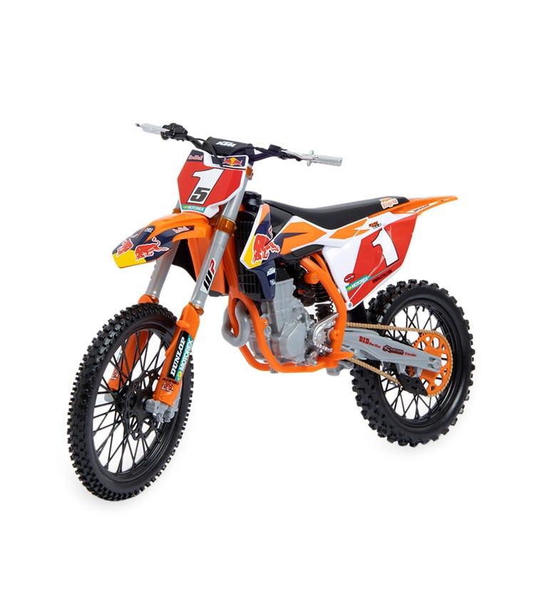 MAISTO 1:6 Scale 450 SXF Red Bull KTM Supercross Bike