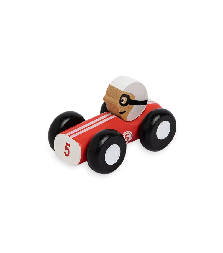 JOUECO Wooden Racing Cars In Box (Assorted)