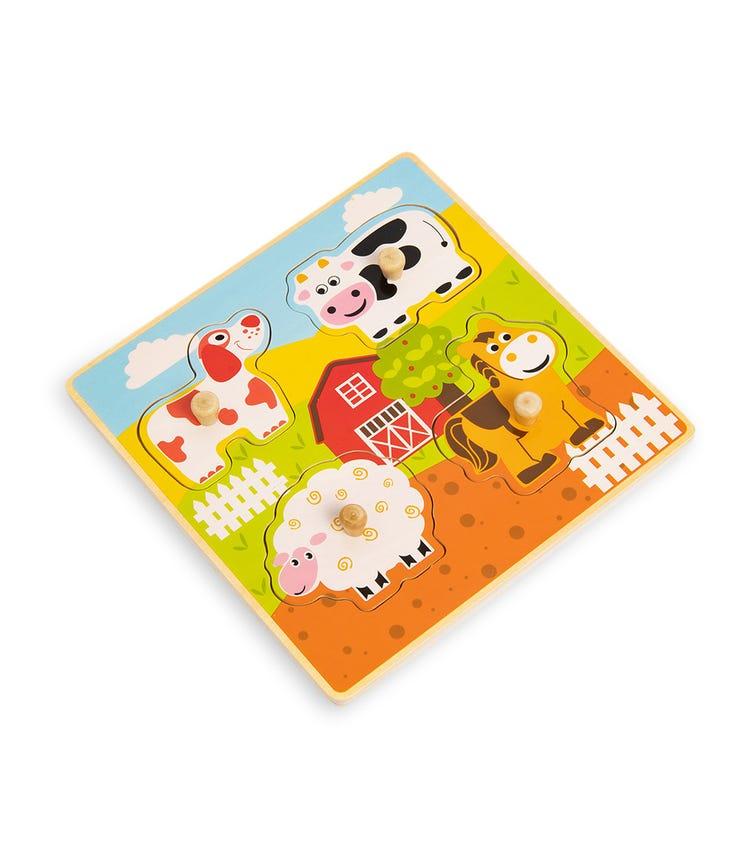 JOUECO Animal Knob Puzzle (Assorted)