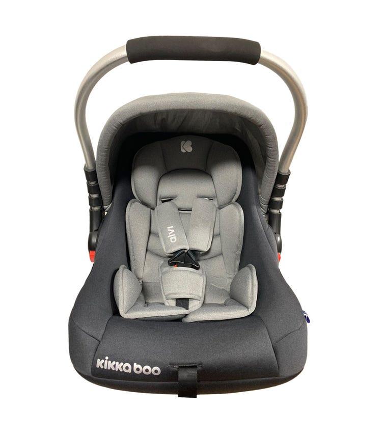 KIKKABOO Car Seat 0+ (0-13 KG) Alvi - Grey