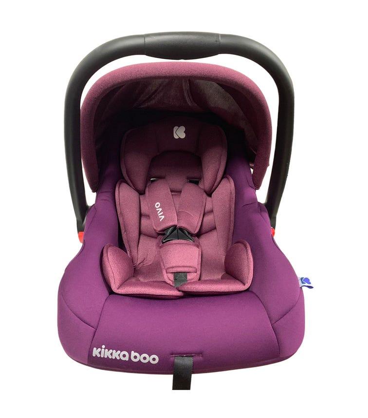 KIKKABOO Car Seat 0+ (0-13 KG) Vivo - Purple