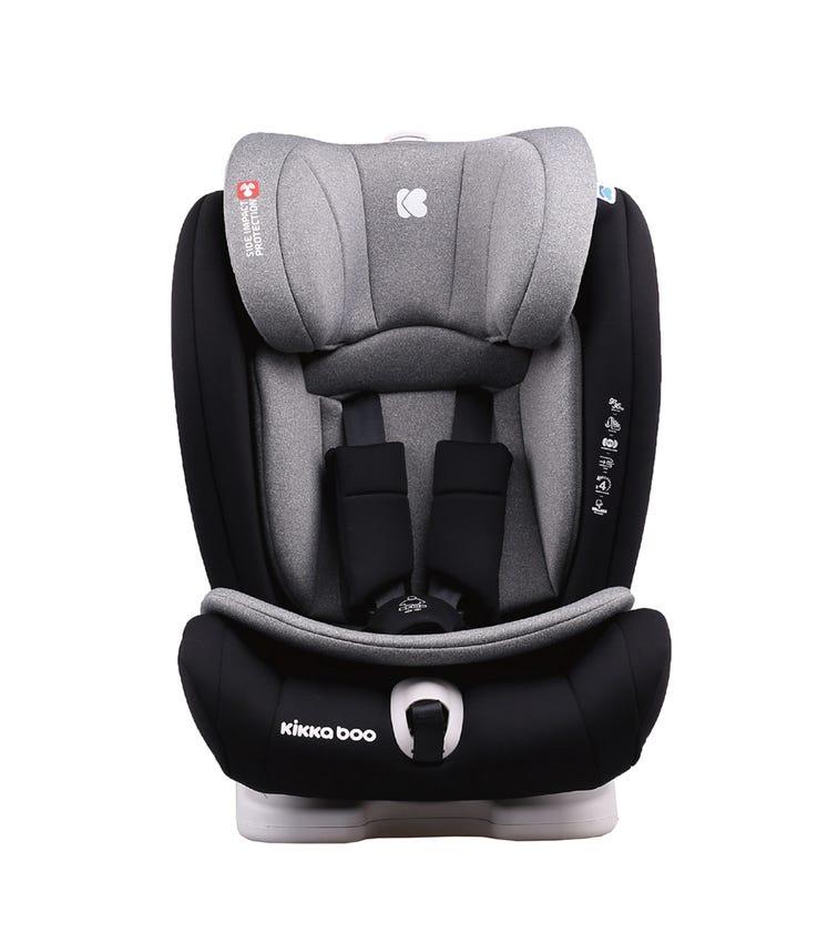 KIKKABOO Car Seat 1-2-3 (9-36 KG) Viaggio - Light Grey