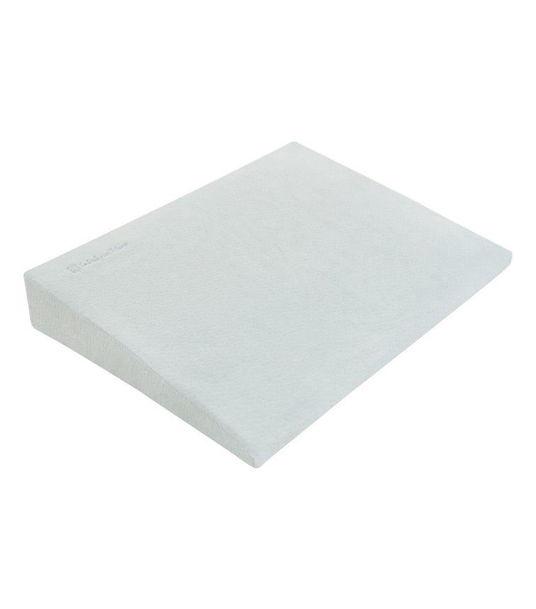 KIKKABOO Memory Foam Cot Wedge - Mint Velvet