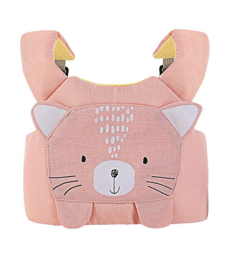 KIKKABOO Toddler Safety Harness Leash - Pink Cat