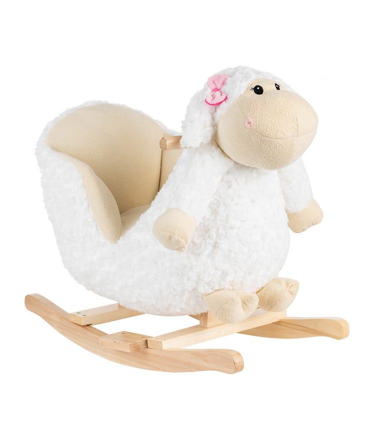 KIKKABOO Soft Rocking Toy With Seat - Sheep
