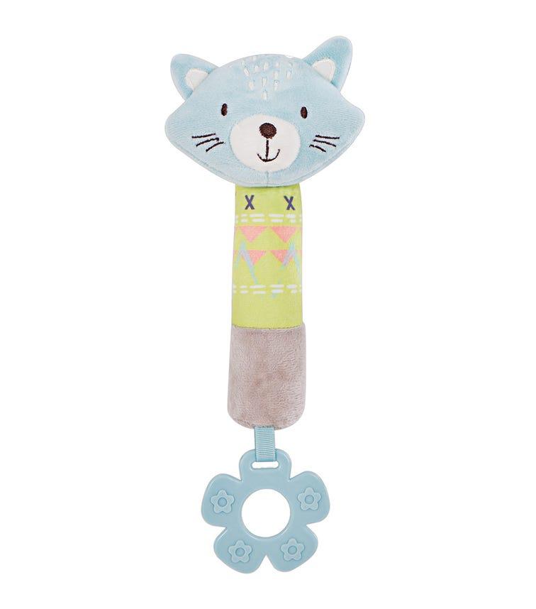KIKKABOO Cat Squeaker Toy