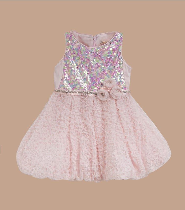 CHOUPETTE Elegant Dress With A Balloon Skirt