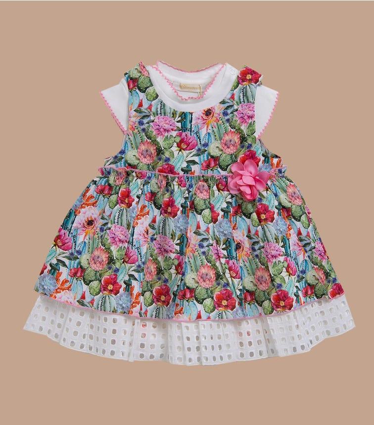 CHOUPETTE Bodysuit And Pinafore-Dress