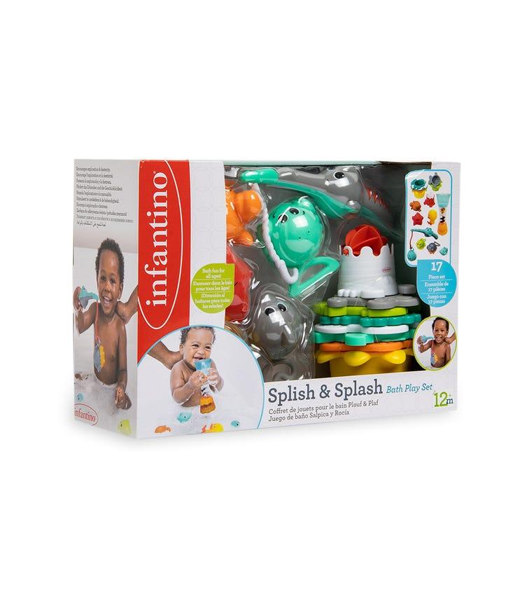 INFANTINO Splish & Splash Bath Play Set