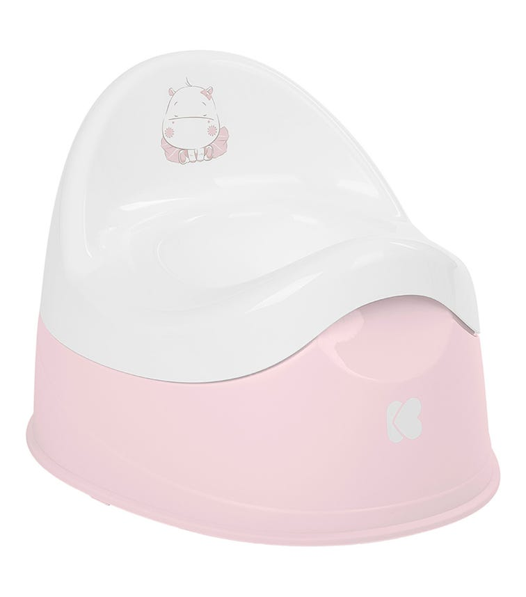 KIKKABOO Hippo Potty With Removable Bowl Hippo - Pink