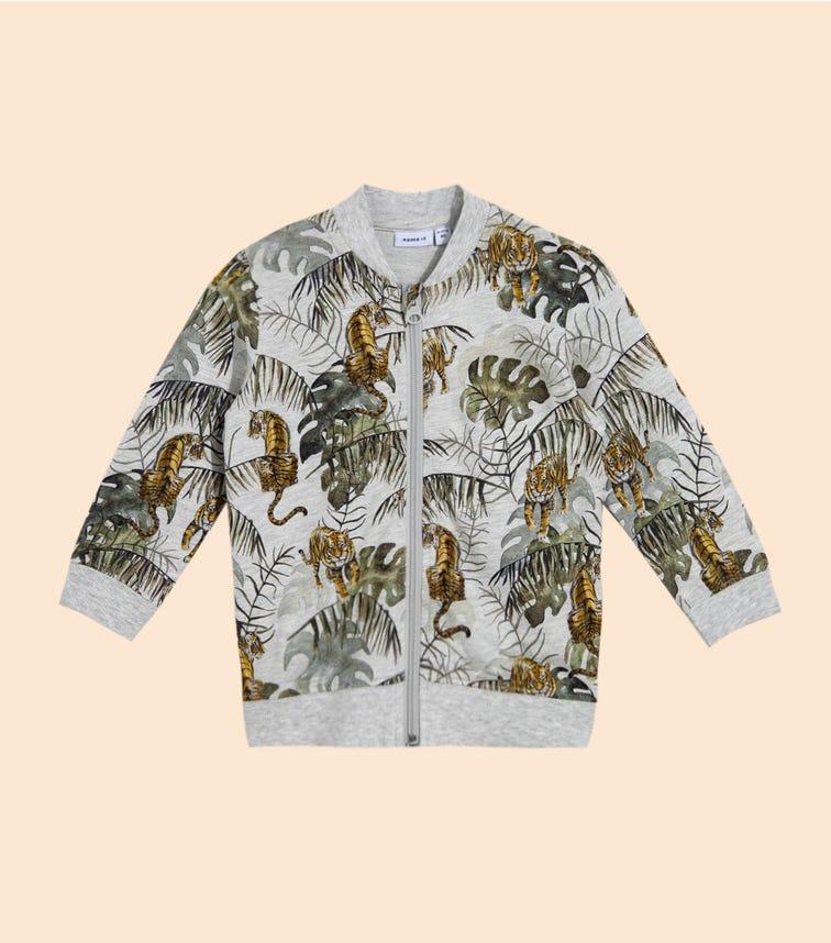 NAME IT Light Grey Tiger Tropic Jacket