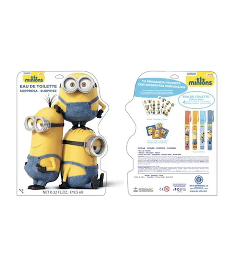 AIRVAL MinionsSurprise Bag EDT 9.5 ML
