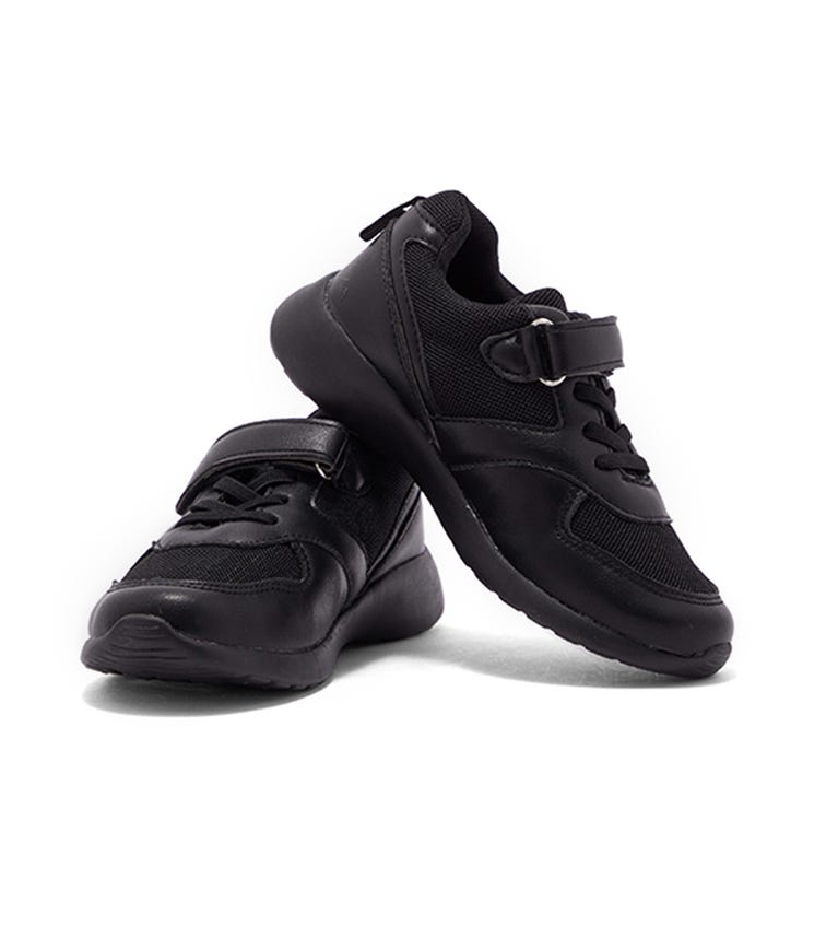 CCC Back To School Boys Shoes - Lace + Velcro