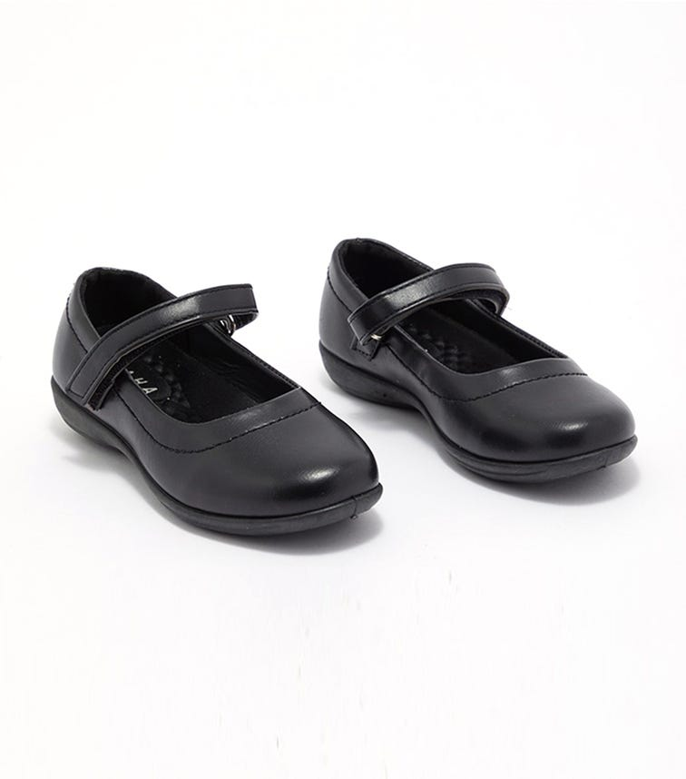 CCC Back To School Girls Shoes -  Velcro Vamp Strap