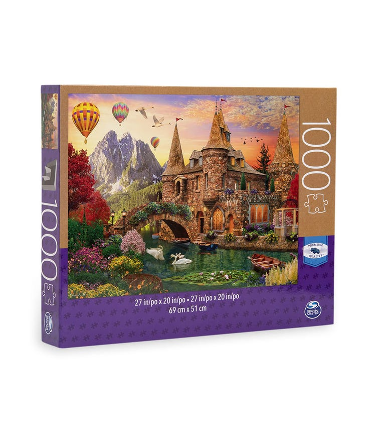 SPIN MASTER Puzzle Large 1000 Pieces Assortment M02