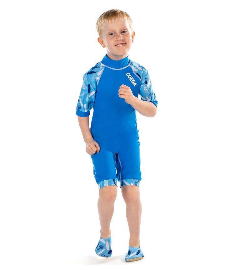 COEGA SUNWEAR Youth Boys 1pc Swimsuit - Blue Surfer