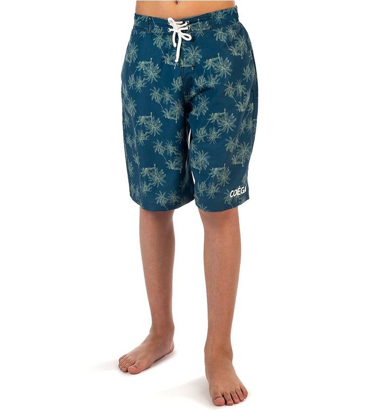 COEGA SUNWEAR Youth Boys Boardshorts - Khaki Colour Block
