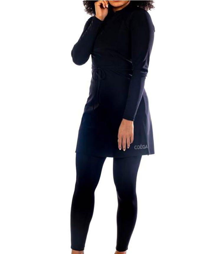 COEGA SUNWEAR Ladies Tunic Skirted - Black