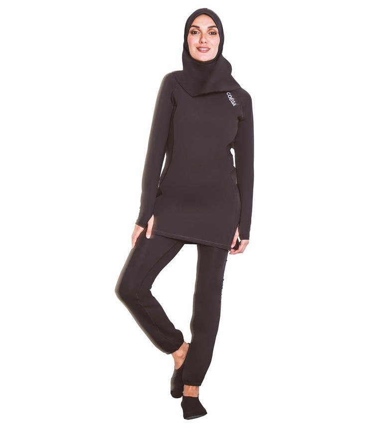 COEGA SUNWEAR Ladies Islamic 3pc Swimsuit - Black