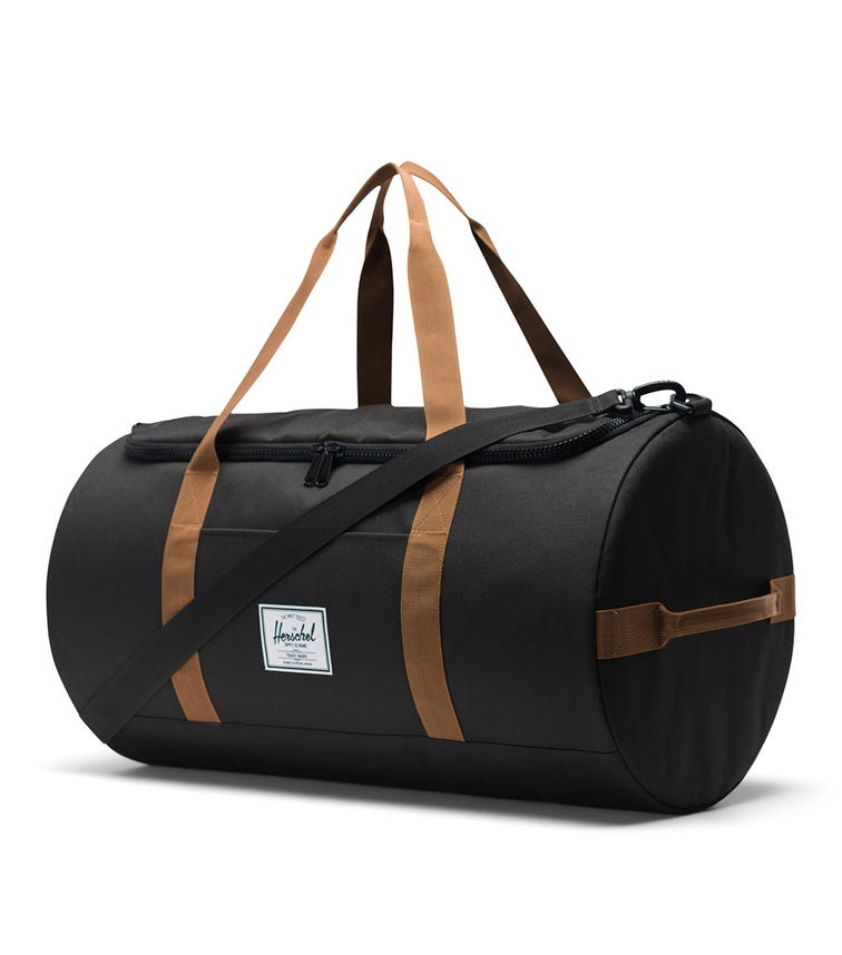 HERSCHEL Sutton Black Duffle Bag