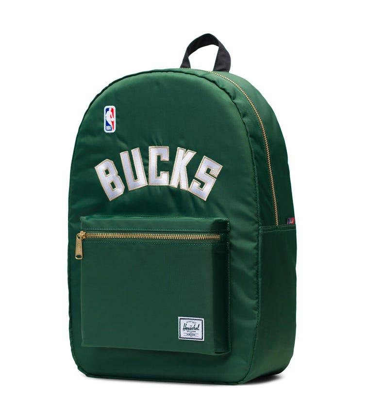 HERSCHEL Settlement Backpack - Dark Green Milwaukee Bucks