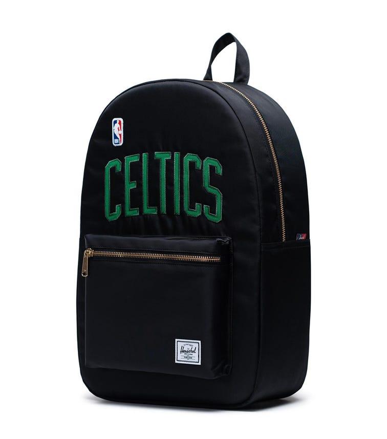 HERSCHEL Settlement Backpack - Black Boston Celtics