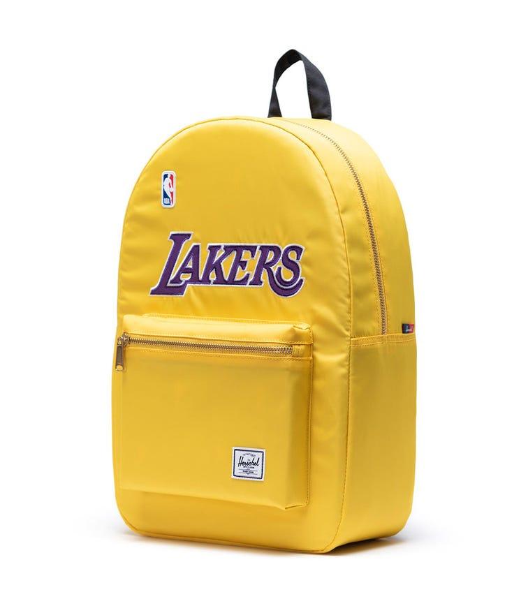 HERSCHEL Settlement Backpack - Yellow Los Angeles Lakers