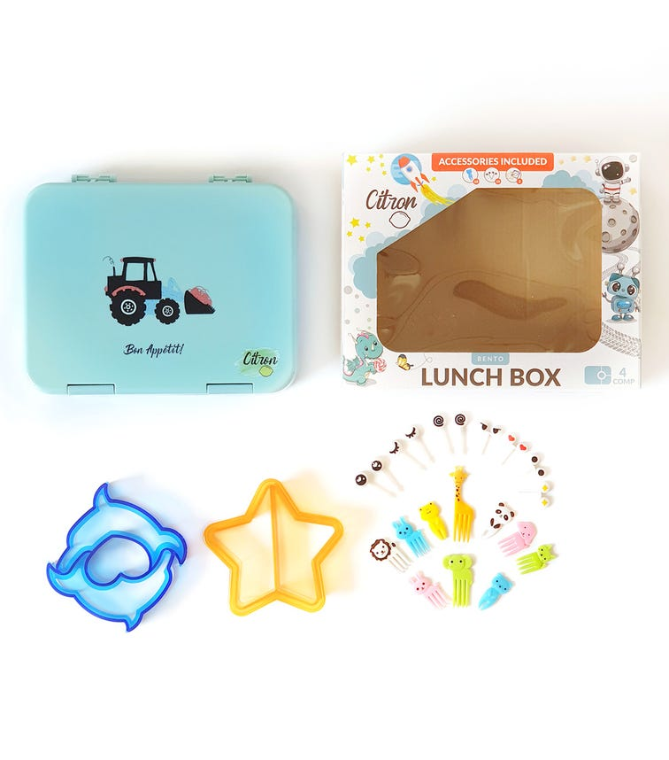 CITRON Lunch Box - Tractor