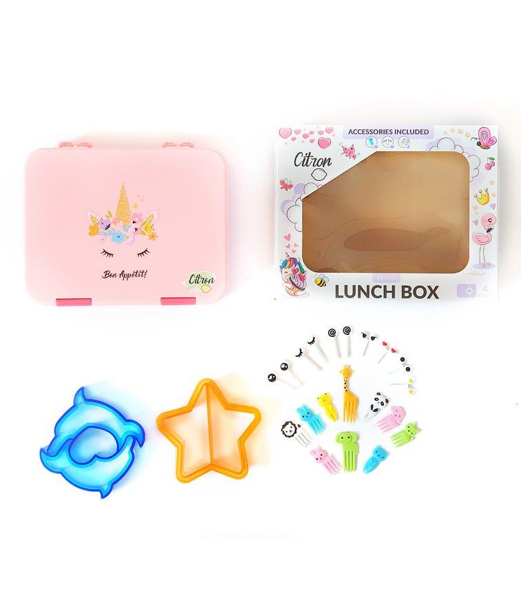 CITRON Lunch Box - Pink Unicorn