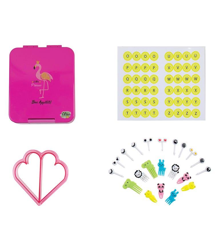 CITRON Snack Box - Flamingo