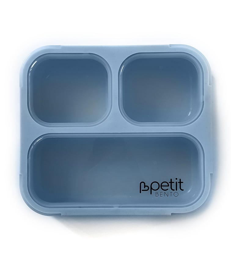 PETIT BENTO Medium Lunch Box - Dusty Blue