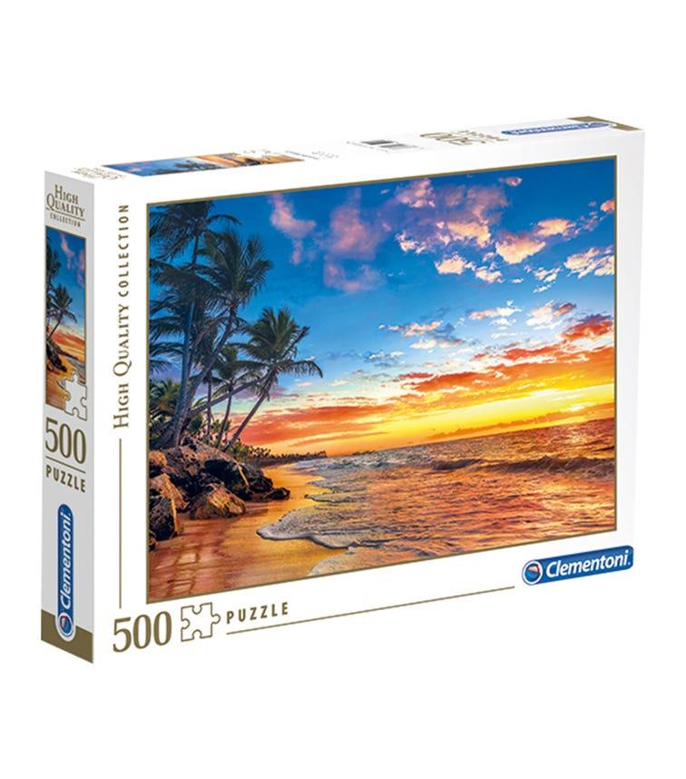 CLEMENTONI The Paradise Beach 500 Pieces