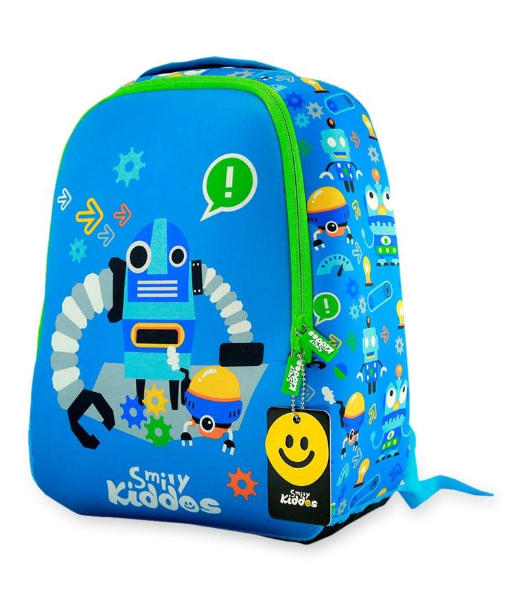 SMILY KIDDOS Junior Backpack - Blue