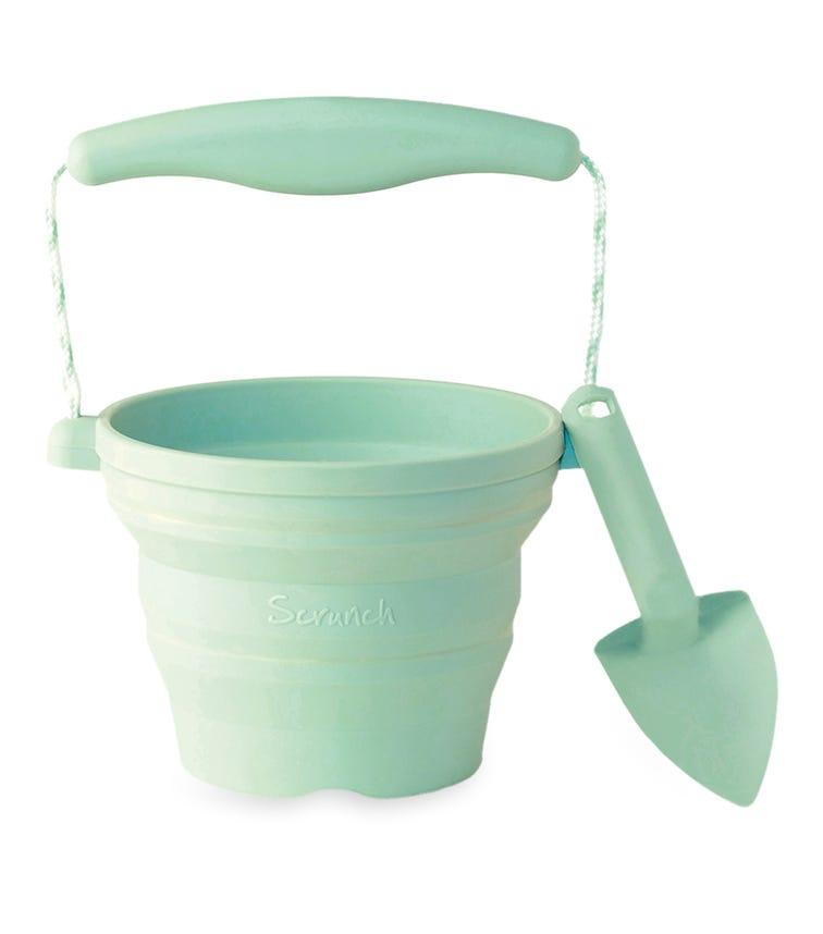 SCRUNCH Seedling Pots - Dusty Light Green