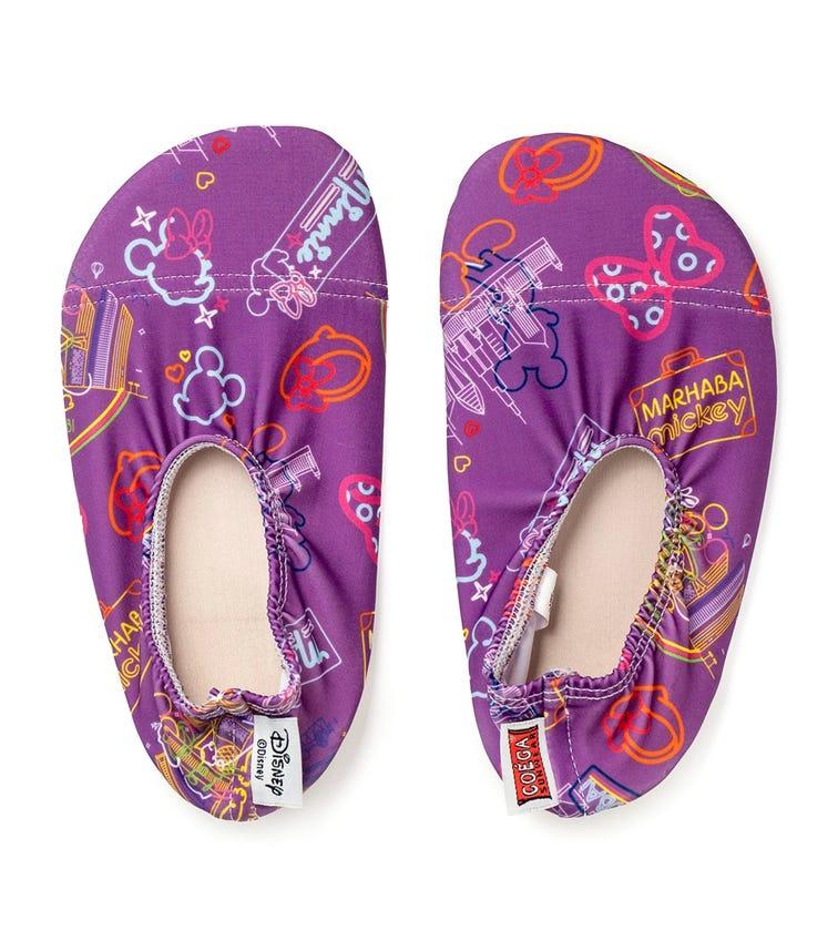 COEGA SUNWEAR Pool Shoes Infant - Purple City Life (Disney 2021)