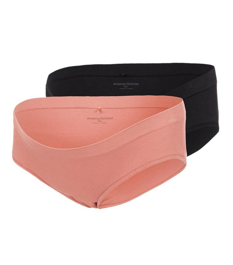 MAMALICIOUS 2-Pack Ribbed Underwear
